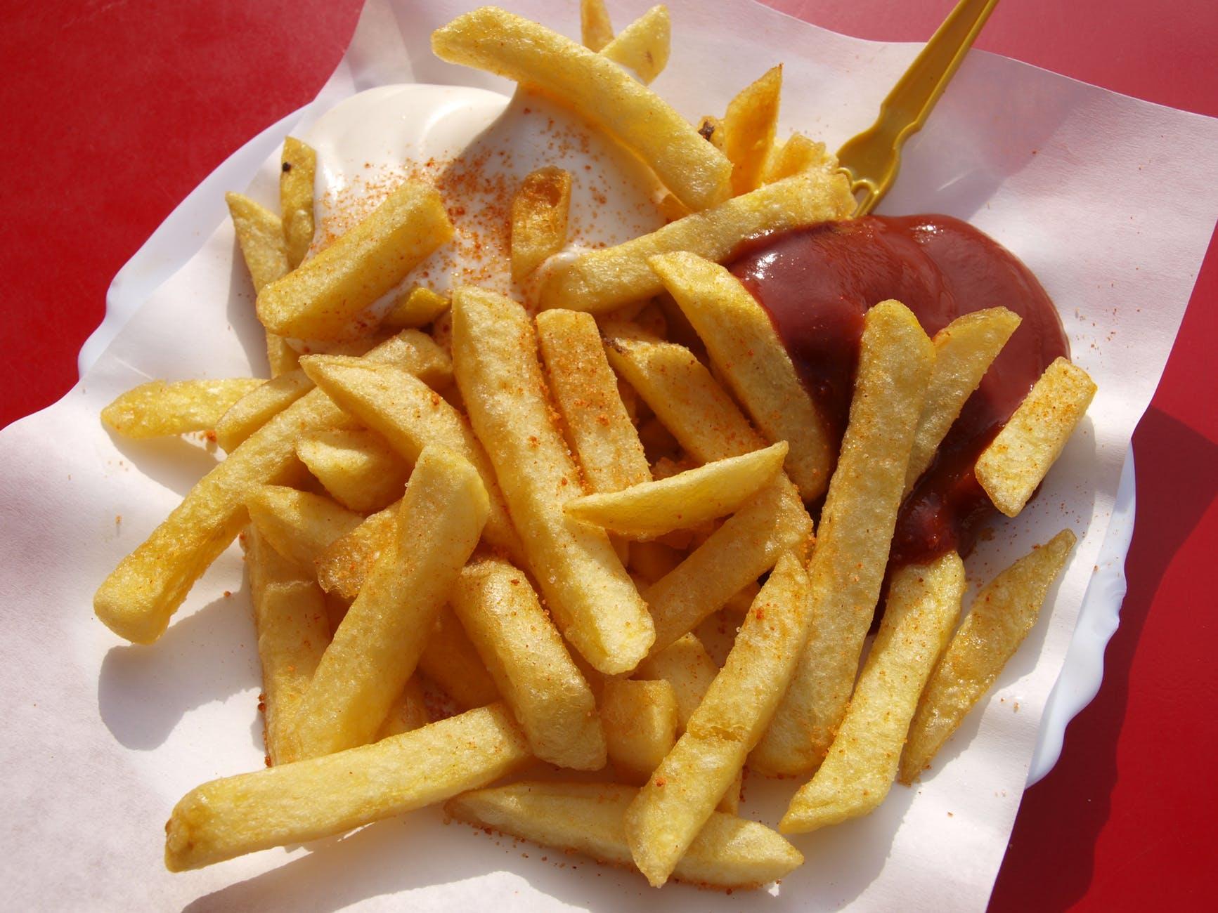 fast food gras